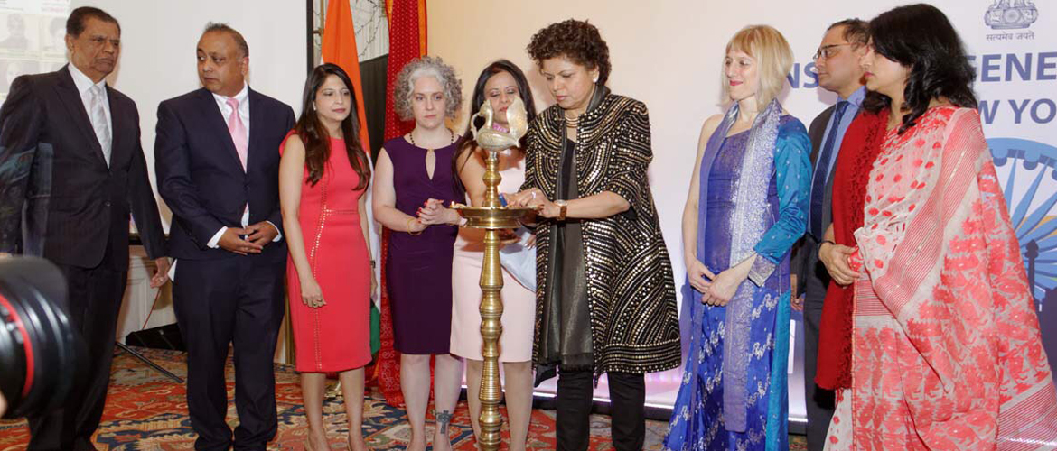 "On the occasion of International Women's Day, The Consulate General of India and The Federation of Indian Associations NY - NJ - CT organized ""Women Leadership Conference"" on March 8th, 2018 at the Consulate"