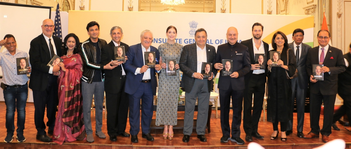 Book Launch 'Lessons Life Taught Me Unknowingly: An Autobiography' by Anupam Kher at Consulate on August 9, 2019