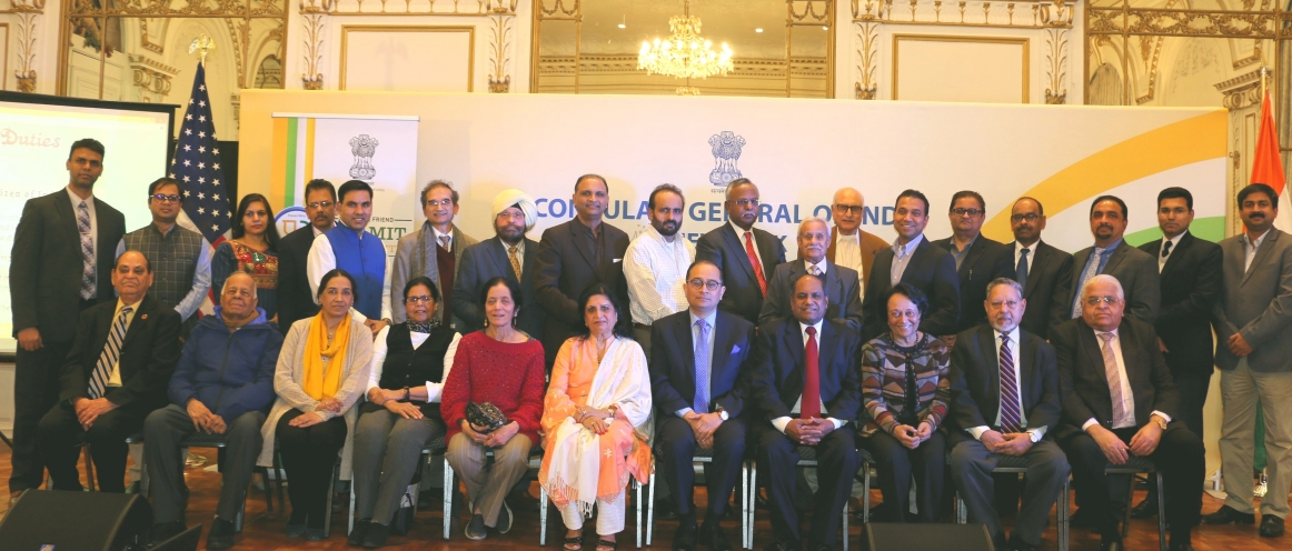 Chalo Consulate Inaugural Edition : Team Consulate interacted with GOPIO Members on January 13, 2020