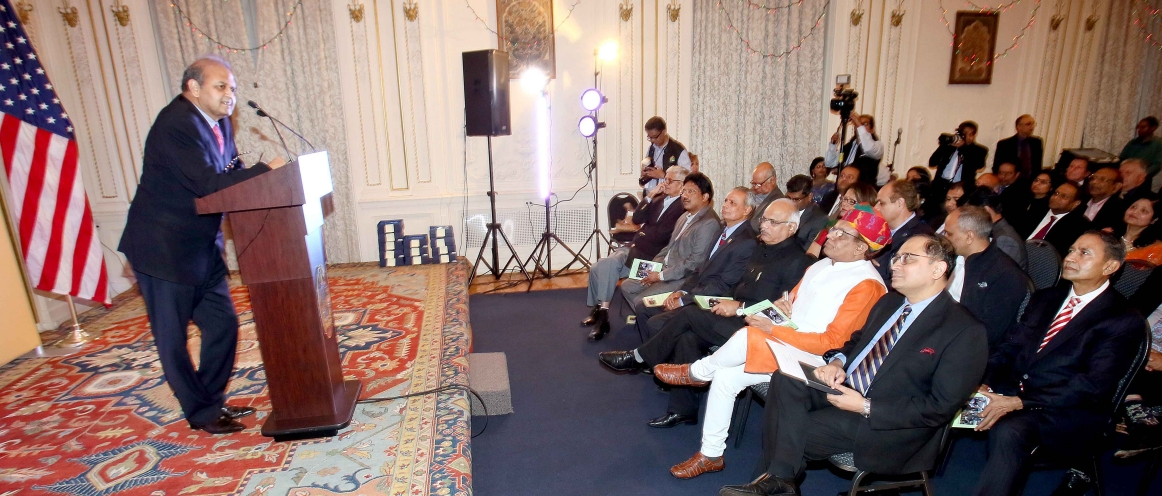 Consulate General of India, New York in collaboration with Jaipur Foot USA, the U.S. chapter of the Jaipur-based Bhagwan Mahaveer Viklang Sahayata Samiti (BMVSS) hosted an event at the Consulate on May 14, 2018