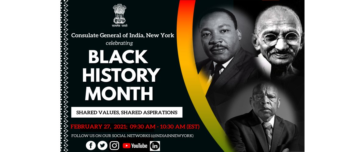 Black History Month - Shared Values, Shared Aspirations