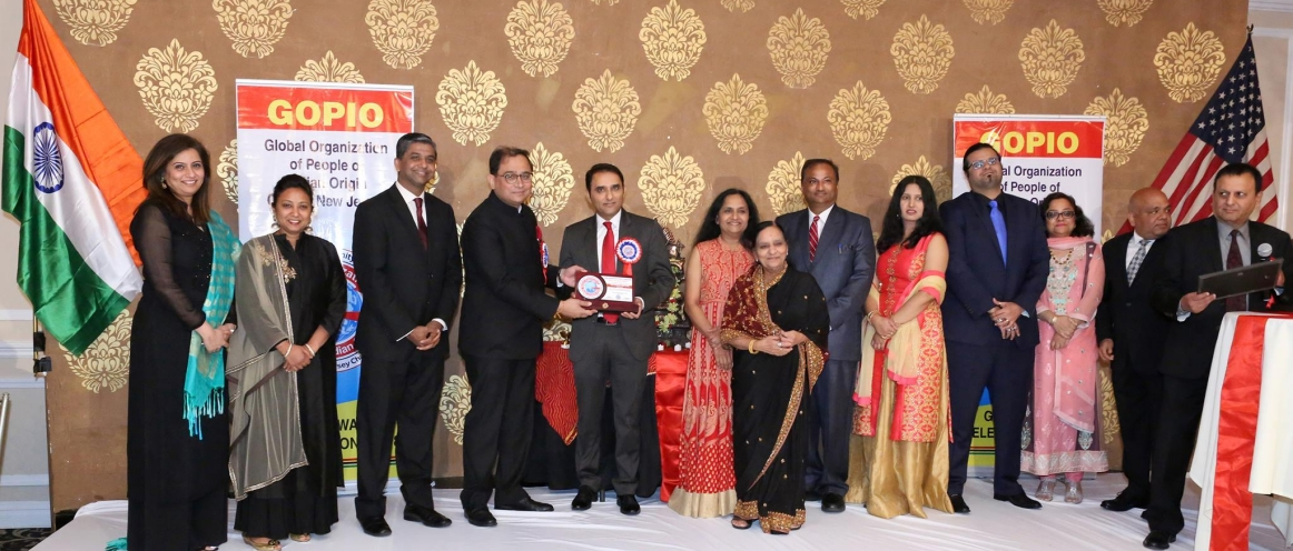 GOPIO Central Jersey Chapter celebrated 10th Anniversary with a Gala Community Recognition and Award Ceremony on June 3, 2018