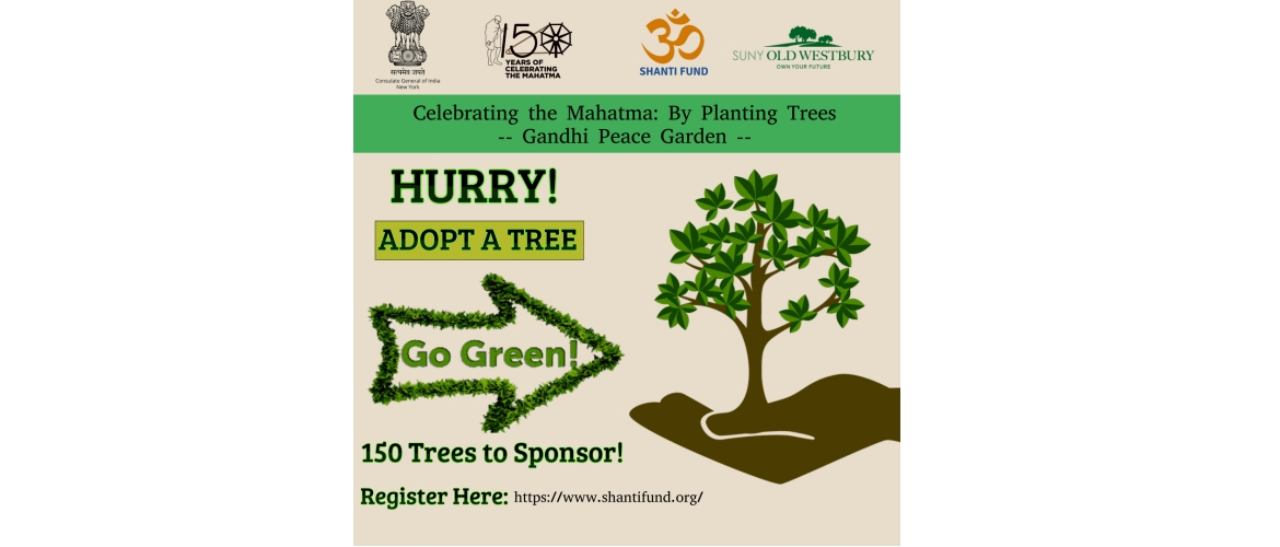 Adopt a Tree Program@Gandhi Peace Garden