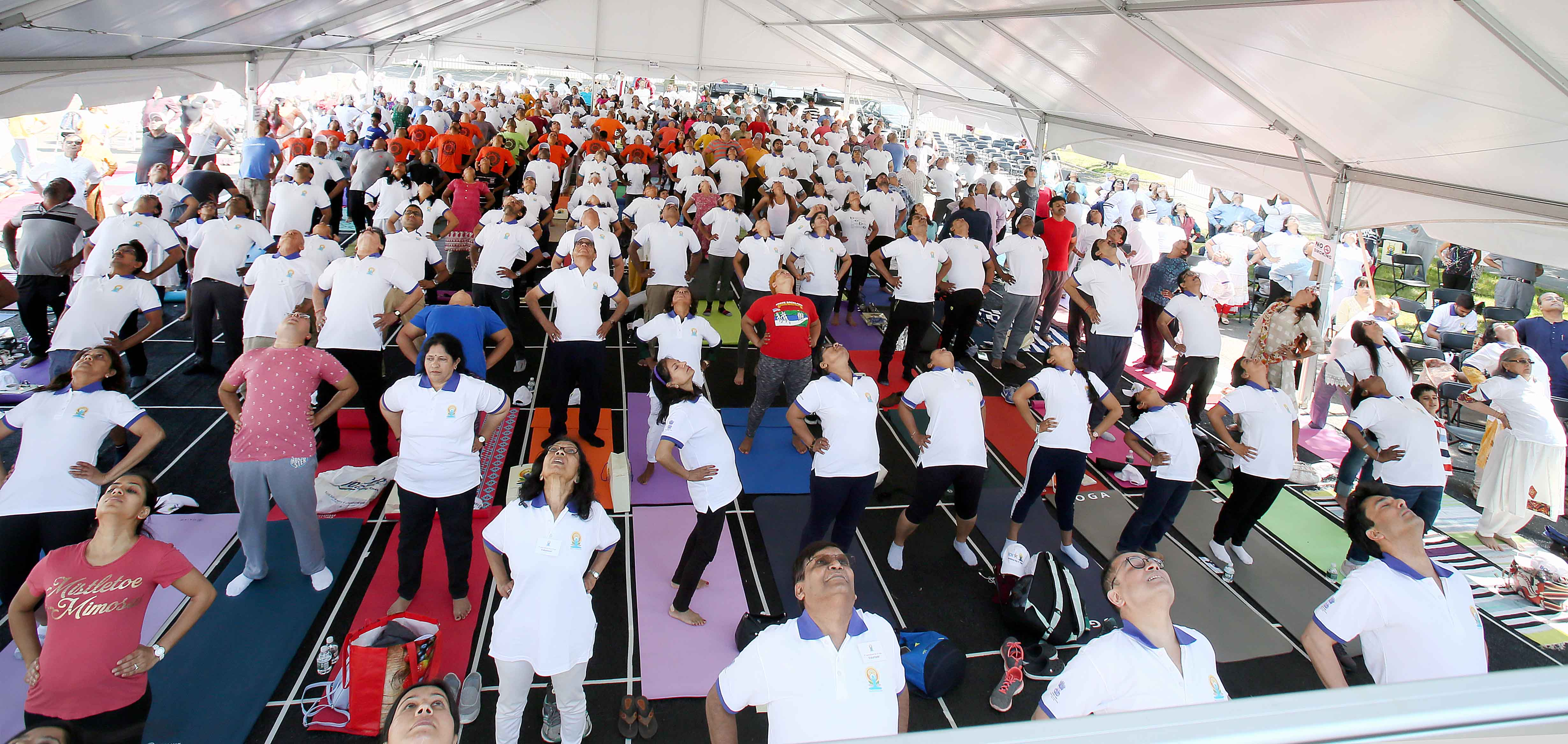 5th International Yoga Day celebrations on June 23, 2019