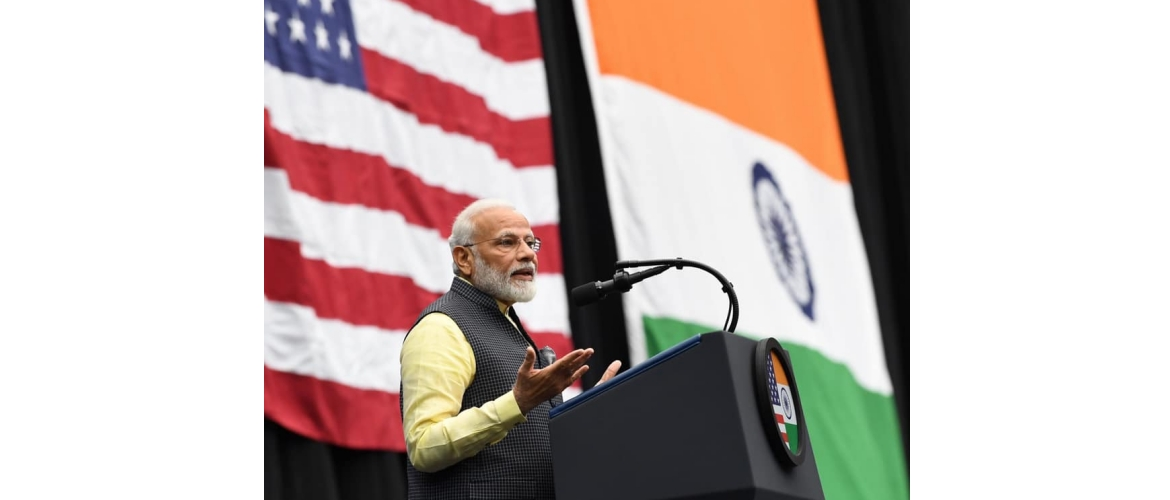 Prime Minister addresses Indian Community in Houston, Texas