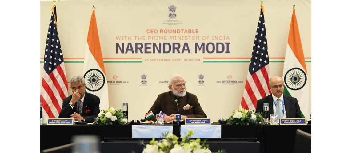 Prime Minister attends CEO Roundtable in Houston