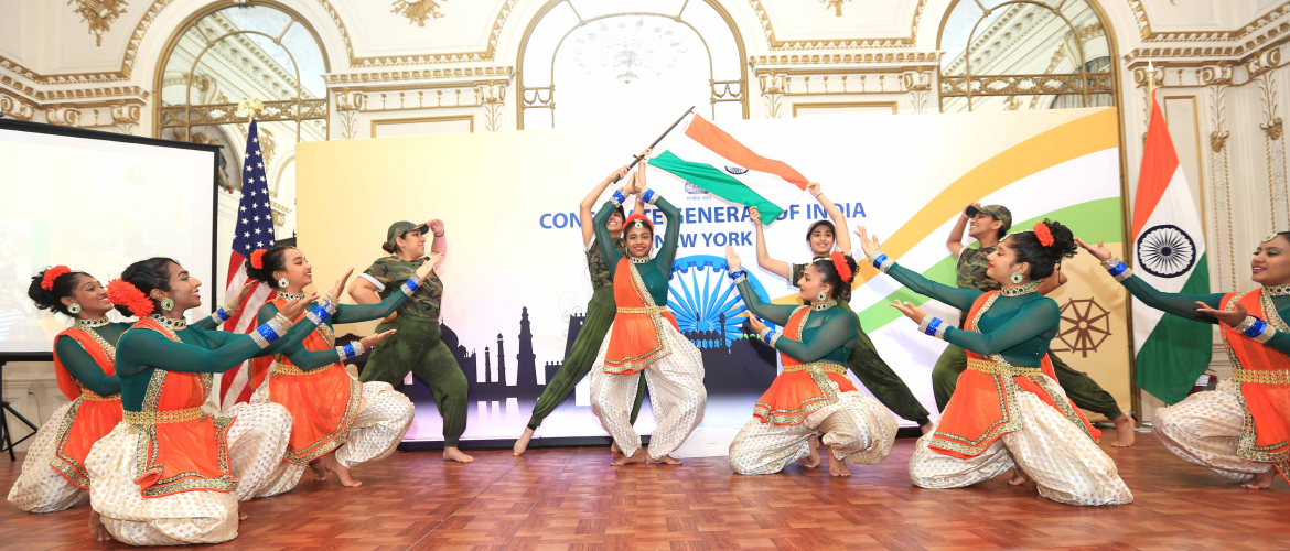 Curtain Raiser of FIA's 39th India Day Parade at the Consulate General of India, New York (June 26, 2019)