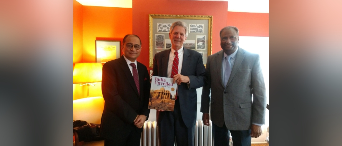 Consul General met with Congressman Frank Pallone in his District office at New Jersey