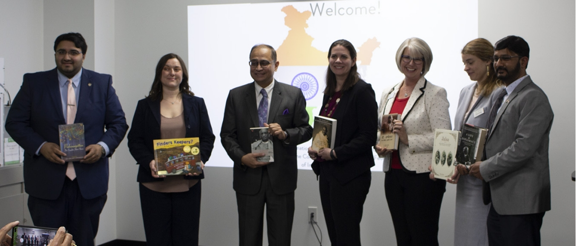 Inauguration of 'India Corner' at Westerville Public Library, Ohio