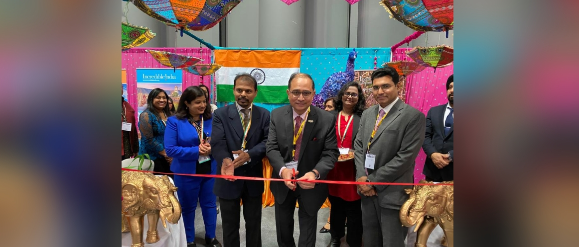 Consul General inaugurated the Indian Pavilion at the New York Times Travel Show 2020