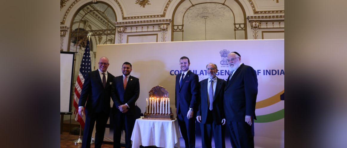 Hanukkah Celebrations at the Consulate on December 23, 2019