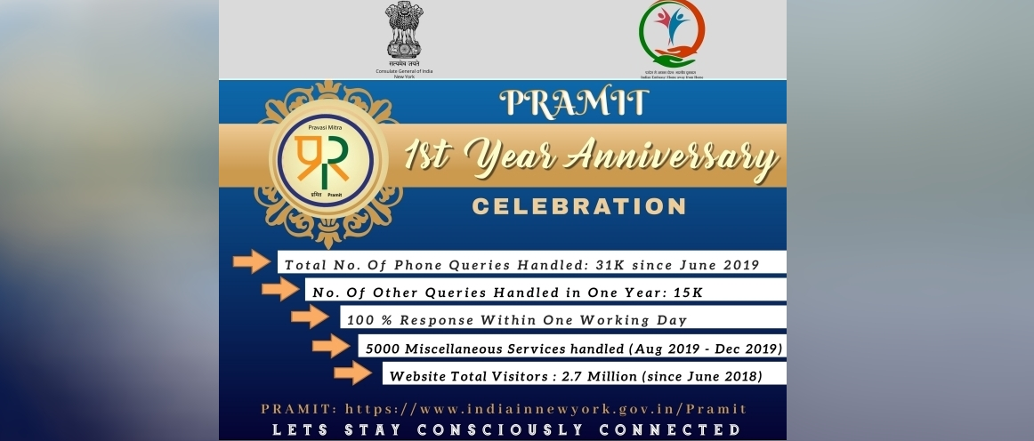 PRAMIT First Year Anniversary Celebrations