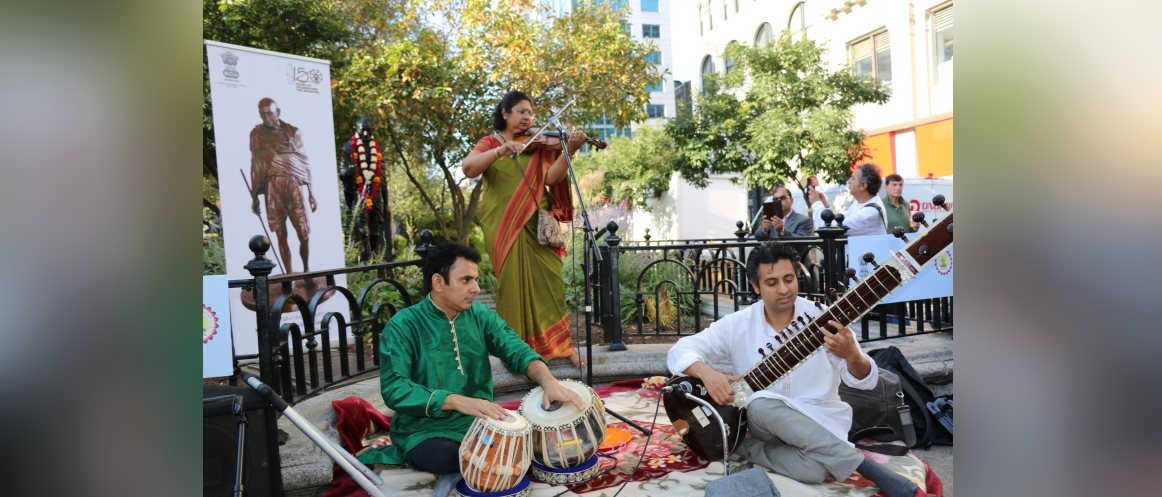 Gandhi Jayanti Celebration on Oct 2, 2019 at Union Square