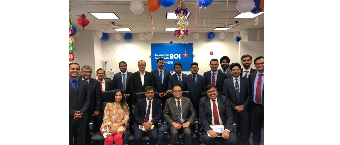 Consul General and Members of the Bank at 114th Foundation Day of Bank of India (Sep 6, 2019)