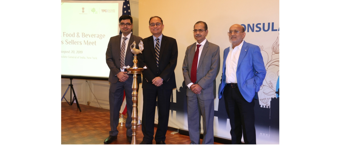 Indian Food Products Buyers-Sellers Meet at the Consulate (August 20, 2019)