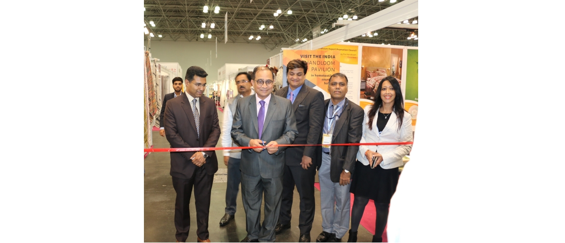 India Pavilion at TEXWORLD & Home Textiles Sourcing Fair at Jacob Javits Center, New York, USA from July 22 - July 24, 2019