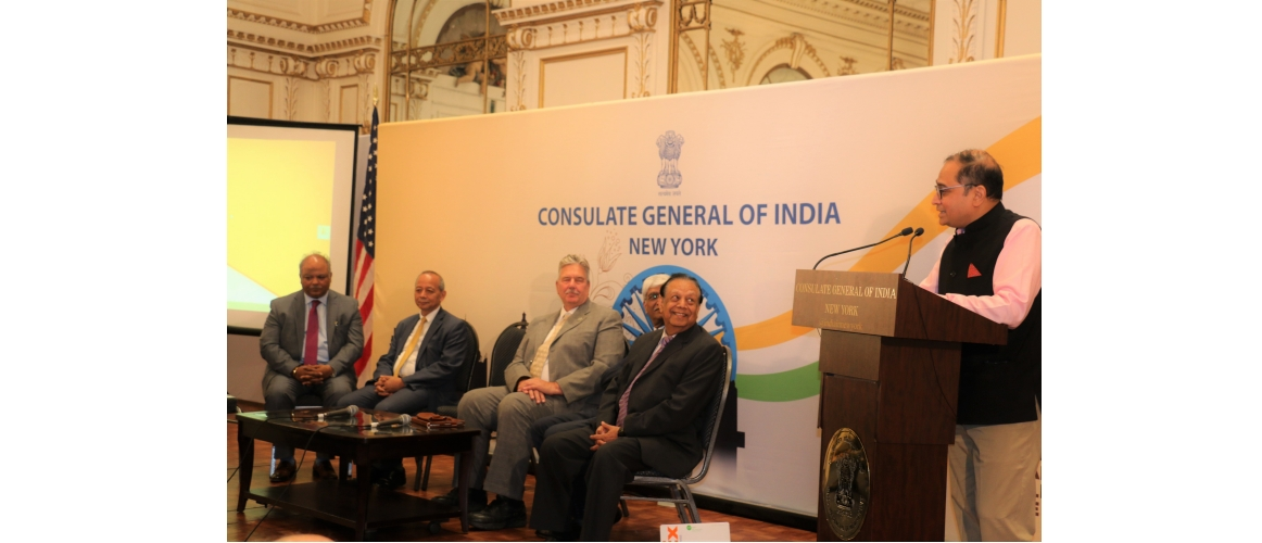 Reception for the members of Indo-American Lawyers Association@Consulate (July 24, 2019)
