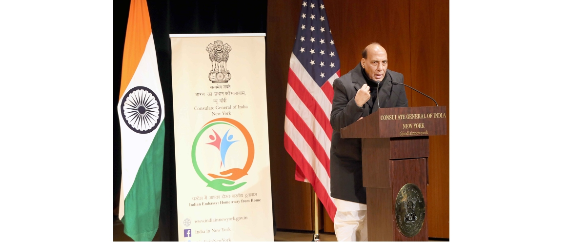 Indian Community & Friends of India welcomed Mr. Rajnath Singh, Hon'ble Defence Minister of India (December 16, 2019)