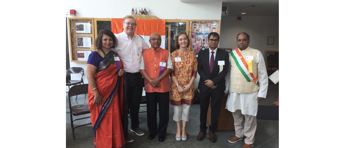 Celebration of India's 73rd Independence Day by GOPIO, Connecticut on August 17, 2019