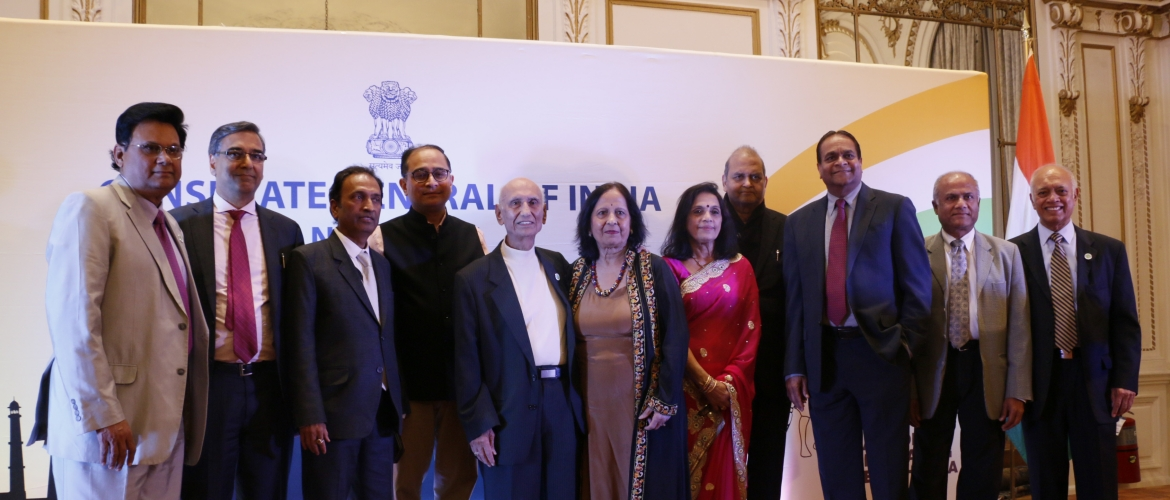 In commemoration of the 150th Birth Anniversary of Mahatma Gandhi,  Consulate celebrated Ahimsa Thanksgiving 2019 on November 8, 2019