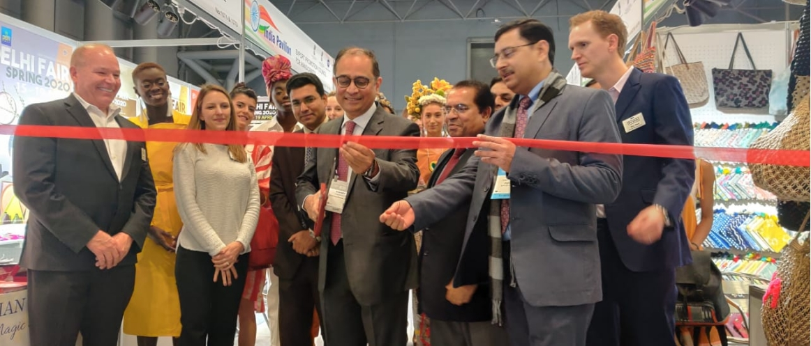 Consul General inaugurated the Indian Pavilion - New York Now Show at Jacob K. Javits Convention Center